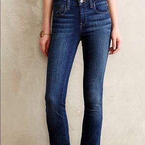 Pilcro Fit/Stet Bootcut Dark Wash Jeans